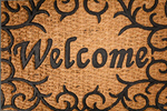 Сlipart Doormat Greeting Welcome Sign Floor Mat Doorstep photo  BillionPhotos