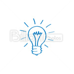 Сlipart Light Bulb Inspiration Ideas Innovation Lighting Equipment vector icon cut out BillionPhotos