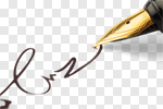 Сlipart Pen Contract Signature Writing Signing photo cut out BillionPhotos