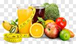 Сlipart diet dieting slim slimming fruit photo cut out BillionPhotos