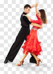 Сlipart Dancing Couple Salsa Dancing Ballroom Dancing Heterosexual Couple photo cut out BillionPhotos