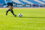 Сlipart Soccer Soccer Player Kicking Professional Sport Ball photo  BillionPhotos