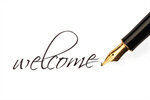 Сlipart Welcome Sign Pen Writing Fountain Pen Ink photo  BillionPhotos