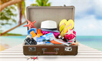 Сlipart summer suitcase packed bag combination holiday   BillionPhotos