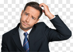 Сlipart Confusion Men Business Businessman One Person photo cut out BillionPhotos