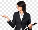 Сlipart Businesswoman Women Presentation Showing Business photo cut out BillionPhotos