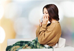 Сlipart cold and flu woman cough bed sickness   BillionPhotos