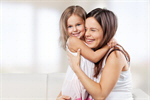 Сlipart mother mom toddler cute daughter   BillionPhotos