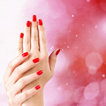 Сlipart nail polish red hand closeup   BillionPhotos