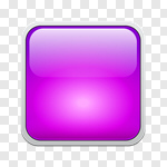 Сlipart Interface Icons Push Button Shiny Square Shape Square vector cut out BillionPhotos