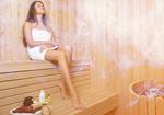 Сlipart woman in sauna sauna steam room relax   BillionPhotos