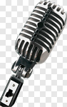 Сlipart Microphone Retro Revival Old Old-fashioned Music photo cut out BillionPhotos