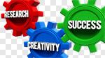 Сlipart Innovation Creativity Breaking New Ground Gear Business 3d cut out BillionPhotos