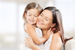Сlipart mother daughter bio hug charming   BillionPhotos