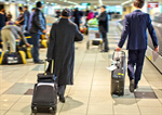Сlipart Airport Suitcase Men People Busy photo  BillionPhotos