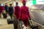 Сlipart Airport Cabin Crew Business Luggage Women photo  BillionPhotos