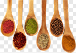 Сlipart Spice Food Indian Culture Spoon Organic photo cut out BillionPhotos