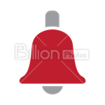 Сlipart alarm alert bell call doorbell vector icon cut out BillionPhotos