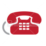 Сlipart phone telephone telecommunication service talk vector icon cut out BillionPhotos