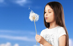 Сlipart dandelion and girl seed wind ruegen blow   BillionPhotos