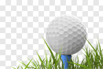 Сlipart Golf Golf Ball Grass Tee White 3d cut out BillionPhotos