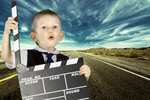 Сlipart kid copy white clap movie   BillionPhotos