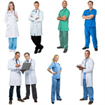 Сlipart Nurse Doctor Isolated Standing Healthcare And Medicine   BillionPhotos