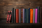 Сlipart book bookshelf shelf classic literature photo  BillionPhotos