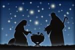 Сlipart Nativity Scene Christmas Jesus Christ blue Religion vector  BillionPhotos