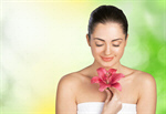 Сlipart Women Spa Treatment Human Face Single Flower Beautiful   BillionPhotos