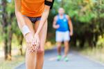 Сlipart pain painful knee woman workout photo  BillionPhotos