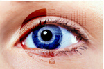 Сlipart cataract eye vision hologram closeup   BillionPhotos
