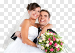 Сlipart Wedding Bride Groom Couple Engagement photo cut out BillionPhotos
