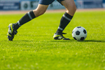 Сlipart Soccer Kicking Ball Action Grass photo  BillionPhotos