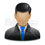 Сlipart Avatar Icon Face Men Businessman vector icon cut out BillionPhotos