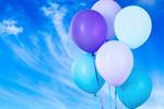 Сlipart bunch white blue decoration fly   BillionPhotos