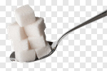 Сlipart Sugar Spoon Cube Food Teaspoon photo cut out BillionPhotos