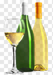 Сlipart Wine Bottle White Wine Wine Bottle Glass photo cut out BillionPhotos
