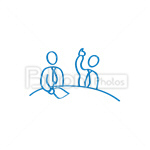 Сlipart Businessmen Businessman People Colleges Speaking vector icon cut out BillionPhotos