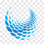Сlipart Abstract Wave Pattern Curve logo logo element vector cut out BillionPhotos