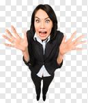 Сlipart Confusion Women Frustration Business Surprise photo cut out BillionPhotos