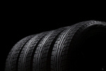 Сlipart Tire Four Objects Backgrounds Rubber Black photo  BillionPhotos