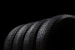 Сlipart Tire Four Objects Backgrounds Rubber Black photo  BillionPhotos