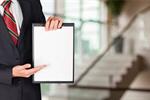 Сlipart Holding Business Men Clipboard Sign   BillionPhotos