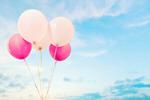 Сlipart balloon pink retro birthday hipster   BillionPhotos
