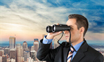 Сlipart Binoculars Searching The Way Forward Business The Future   BillionPhotos