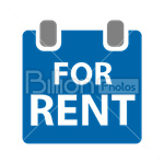 Сlipart real estate real estate sign sign for rent rent vector icon cut out BillionPhotos