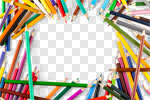 Сlipart pencil school paper background pen photo cut out BillionPhotos