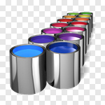 Сlipart Paint Can Paint Painting Choice Painter 3d cut out BillionPhotos