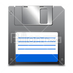 Сlipart Floppy Disk Floppy Diskette save saving vector icon cut out BillionPhotos